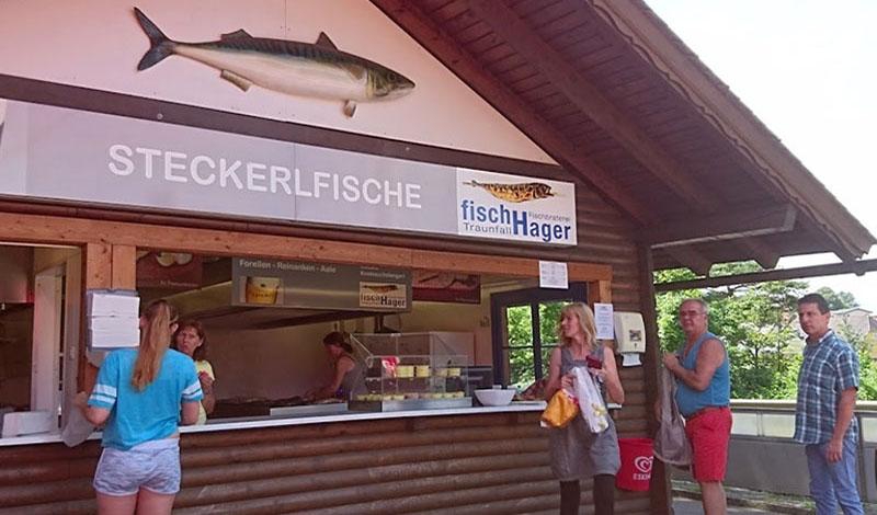 Steckerlfisch Hager Hütte